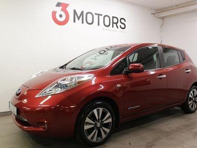begagnad Nissan Leaf 24 kWh 109hk Tekna Fullutrustad