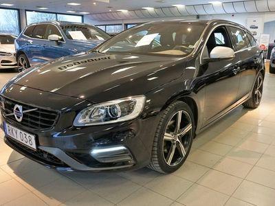 "begagnad Volvo V60 D4 Classic R-Design, Intellisafe Assist Paket, Klimatpaket VOC, Teknikpaket, Lastpaket Akustik, Nav, 18"""