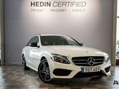 begagnad Mercedes C250 d 4MATIC // AMG & Dragkrok //