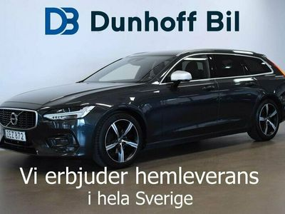 begagnad Volvo V90 D4 R-Design Värmare VOC 190hk Euro 6