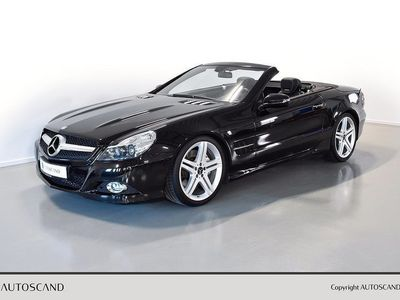 begagnad Mercedes SL500 7G-Tronic Sportpaket