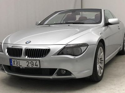 begagnad BMW 645 Cabriolet 6-serien i E63