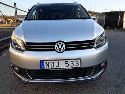 begagnad VW Touran Cross 2.0 TDI(140HK) 7-sits