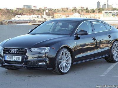 begagnad Audi A5 Sportback 2.0 TDI S-Line Q 190hk Värmare V-däck