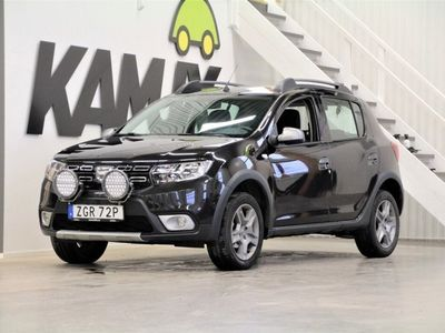 begagnad Dacia Sandero Stepway   0.9 TCe   carplay   Drag   Lågmil   GPS
