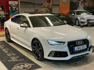 begagnad Audi RS7 Performance 4.0 TFSI V8 quattro TipTronic 605hk