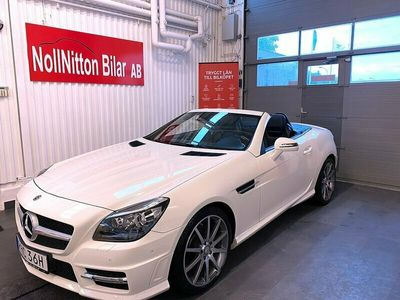 begagnad Mercedes SLK200 BE BlueEFFICIENCY AMG Sport 184hk