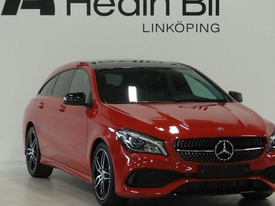 begagnad Mercedes CLA180 Fleet AMG Panorama Night package Backkamera Dragkrok
