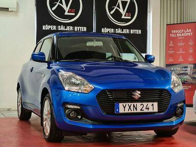 begagnad Suzuki Swift 1.2 CVT GL Euro 6 1 ÄG OBS 1000MIL BAKKAMERA
