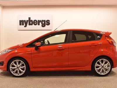 begagnad Ford Fiesta 1.0 100 ST-Line 5-d Vinterdäck ingår 2017, Halvkombi 115 000 kr