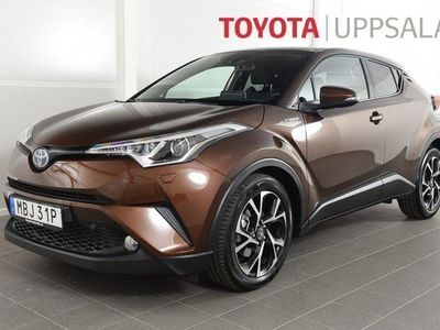 begagnad Toyota C-HR 1,8 Elhybrid X Edition Skinn JBL -19