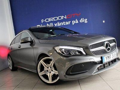 begagnad Mercedes CLA220 Shooting Brake d AMG,DRAG,VÄRME,PAN