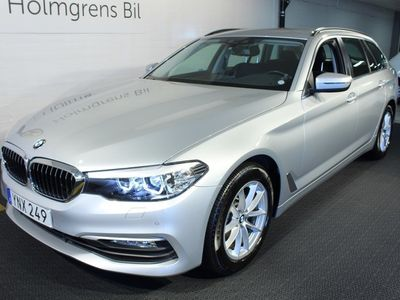 begagnad BMW 520 d Touring Navi HiFi Drag Nyservad