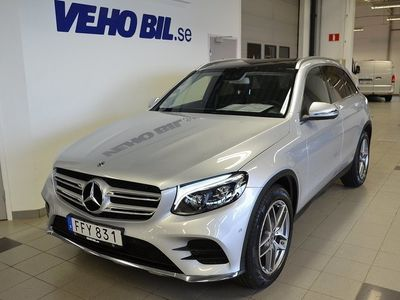 used Mercedes GLC220 d 4Matic, AMG Line, Värmare, Panorama
