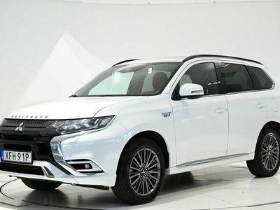 begagnad Mitsubishi Outlander Outlander P-HEV 2.4 Hybrid 4WD CVT 230hk