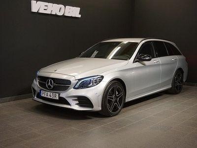 begagnad Mercedes 220 C4MATIC AMG Värmare Backkamera Drag Navi