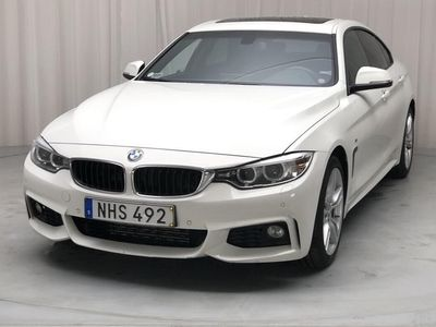 begagnad BMW 420 Gran Coupé d F36 (190hk)