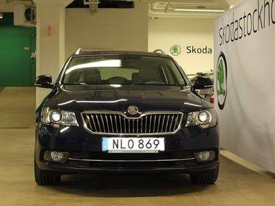 begagnad Skoda Superb Combi ELEGANCE TDI 170