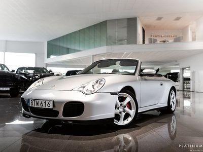 begagnad Porsche 911 Carrera Cabriolet 911 996 4S 2004, Cab 579 000 kr