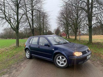 begagnad VW Golf 1.6 Comfort Svensksåld, Drag, 105hk