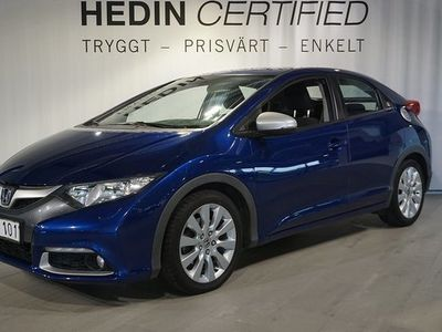 begagnad Honda Civic 2.2 DTEC Sport Backkamera 2012, Halvkombi 104 900 kr