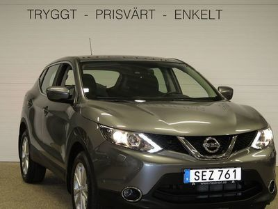 begagnad Nissan Qashqai DIG-T 115 ACENTA 2WD 6M/T SAFETY P CONNECT