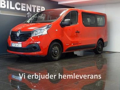 begagnad Renault Trafic Minibuss Passenger 1.6 dCi 9 SITS