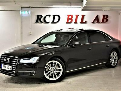 begagnad Audi A8L 3.0 TDI V6 QUATTRO TAKLUCKA 262 HK