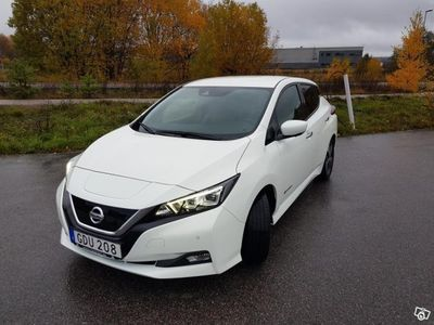 begagnad Nissan Leaf TEKNA ink v-däck & servavtal -19