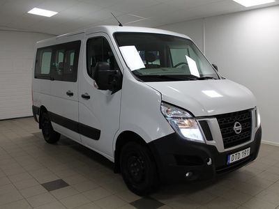 gebraucht Nissan NV400 combi 9 sits Minibuss 2.3 dCi 125hk 99 000 ex moms