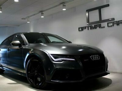 begagnad Audi RS7 4.0TFSi CARBON Daytona Matte-Grey 2014, Sportkupé Pris 539 900 kr