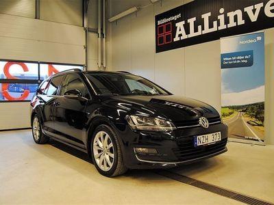 begagnad VW Golf GT 2.0 TDI 150HK DSG VÄRMARE DRAG SVENSKSÅLD