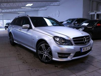 brugt Mercedes C220 CDI (170hk) 4MATIC AMG Värmare Drag