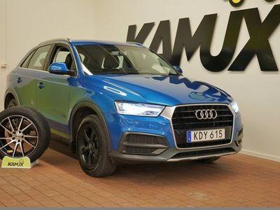 begagnad Audi Q3 1.4 TFSI | Alcantara/skinn | Drag | S&V-Hjul 150hk