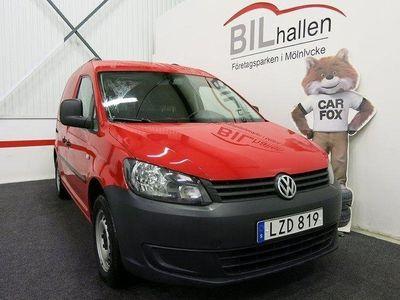begagnad VW Caddy 1,6TDI DUBBELGOLV VÄRMARE DR