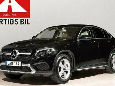 begagnad Mercedes 220 GLC Benzd Coupé 4MATIC 9G-Tronic Euro 6 2018, SUV Pris 419 800 kr