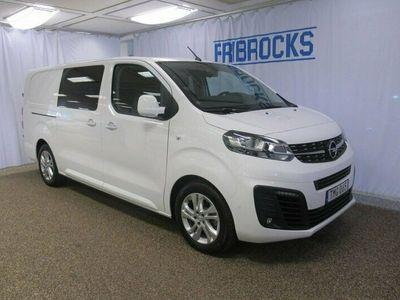 begagnad Opel Vivaro E- Crew Van Premium L3 75KWh 6-sits