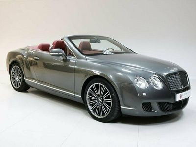 begagnad Bentley Continental 3WGTC SPEED