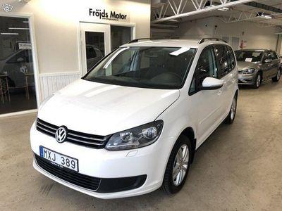 begagnad VW Touran 1.4 TSI EcoFuel 150hk Master Drag Miljöbil