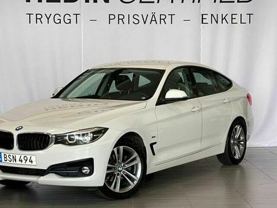 begagnad BMW 320 Gran Turismo d xDrive Sport Line 190HK AUT Drag V - Hjul