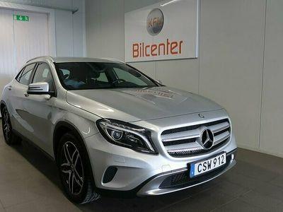 begagnad Mercedes GLA220 CDI 4M 4MATIC Aut-Helskinn-Nav-Backkamera Euro 6 170hk
