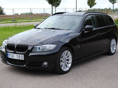 begagnad BMW 320 d xDrive M-in Touring Automat 184hk -12