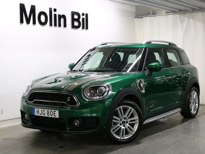 begagnad Mini Cooper S Countryman E ALL4 Experience / Navigation / Salt