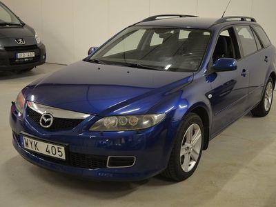 brugt Mazda 6 Wagon 2.0 147h Touring En ägare -06