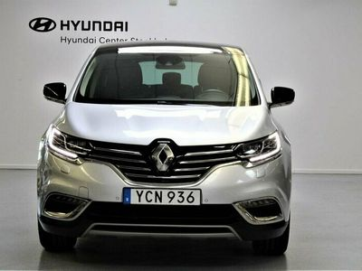 begagnad Renault Grand Espace 1.6 dCi Euro6 7-sits Taklucka GPS Läder 2016, Minibuss Pris 189 900 kr