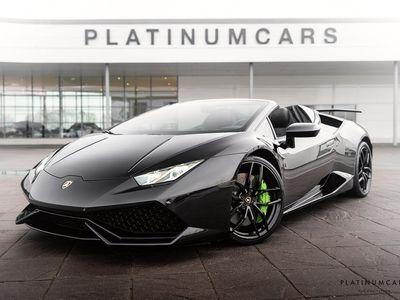begagnad Lamborghini Huracán HuracánSpyder 5.2 V10 610hk / CAPRISTO