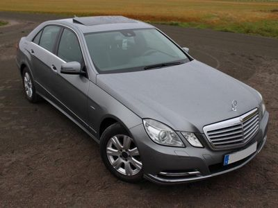 begagnad Mercedes E200 CDI BlueEfficiency (NAVI) -11