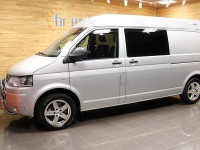 begagnad VW Transporter 2,0 Tdi 4M H2 Aut 5-Sits Skinn D-värmare 2015, Transportbil 169 000 kr