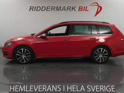 begagnad VW Golf VII 2.0 TDI BlueMotion Technology Sportscombi 4Motion (150hk) R-line