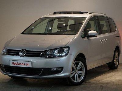 begagnad VW Sharan 2,0 TDI 150HK PREMiUM EU6 G